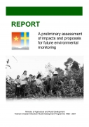 A Preliminary Assessment of Impacts and Proposals for Future Environmental Monitoring