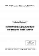 Demonstrating Agricultural Land Use Practices in the Uplands