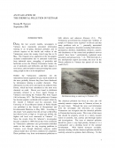 An Evaluation of the Chemical Pollution in Vietnam