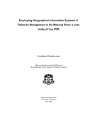 Employing Geographical Information Systems in