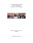 Local Knowledge in the Study of River Fish Biology: Experiences from the Mekong