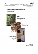 Participatory Forest Resource Assessment And Management PlanningCase Study Report