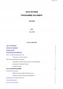 IUCN Vietnam Programme Document 1998 2002