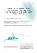 Review of the Present State of the Environment, Fish Stocks and Fisheries of the River Niger (West Africa)