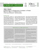 Tree Trade   Liberalization of International Commerce in Forest Products: Risks and Opportunities