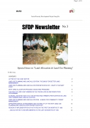 SFDP Newsletter No