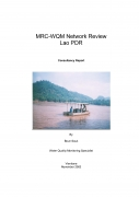 MRC WQM Network Review Lao PDR