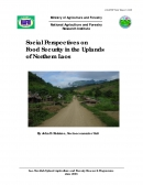 Social Perspectives on Food Security in the Uplands of Northern Laos