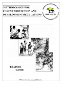 Methodology for Forest Protection and Development Regulations   Trainer Guide