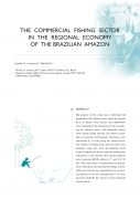 The Commercial Fishing Sector in the Regional Economy of the Brazilian Amazon