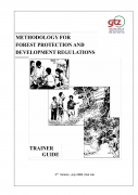 Methodology for Forest Protection and Development Regulation   Trainer GuideRDDL   Village forest regulations Field Guide  ThirdVersion
