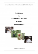 Guidelines for Community Based Forest Management1st Draft
