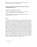 Assessment and Monitoring of Land Use / Land Cover Change in Continental Southeast Asia
