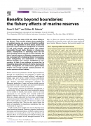 Benefits Beyond Boundaries: The Fishery Effects Of Marine Reserves