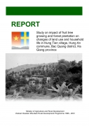 Study on Impact of Fruit Tree Growing and Forest Plantation on Changes of Land Use and Household Life in Hung Tien Village, Hung An Commune, Bac Quang