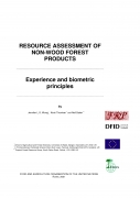 Resource Assessment of Non Wood Forest Products   Experience and Biometric Principles