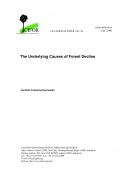 The Underlying Causes of Forest Decline,  Occational Paper No