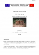 Forestry Programme   VDP / PRA SurveyAnalysis of 34 Communes in the Project Area