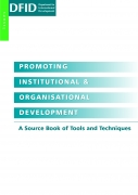 Promoting Institutional & Organisational Development. A Source Book of Tools and Techniques.