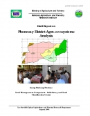 Phonesay District Agro ecosystems Analysis.
