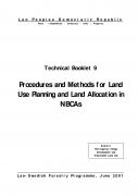 Procedures and Methods for Land Use Planning and Land Allocation in NBCAs