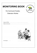 Monitoring Book: For Commune Forestry Extension Worker