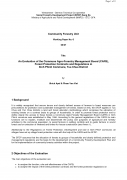 An Evaluation of the Commune Agro Forestry Management Board (CAFB), Forest Protection, Contracts and Regulations in Xinh Phinh Communes, Tua Chua Dist