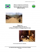 Report on Household Diagnostic Survey in Phonexay District, Luangprabang Province.