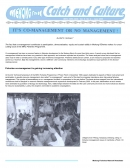 It's Co Management or No Management