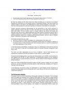 "Socio economic issues: fisheries research activities and ""awareness building"""