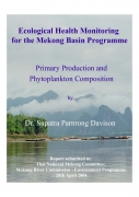 Ecological Health Monitoring for the Mekong Basin Programme. Primary Production and Phytoplankton Composition.