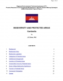 Biodiversity and Protected Areas   Cambodia