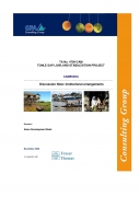 Institutional arrangements: Discussion NoteTonle Sap Lowland Stabilization Project Cambodia   TA 4756 CAM