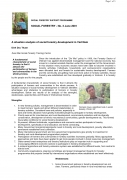 A Situation Analysis of Social Forestry Development in Vietnam