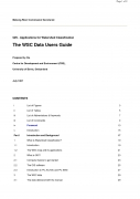 GIS   Applications for Watershed Classification, The WSC Data Users Guide